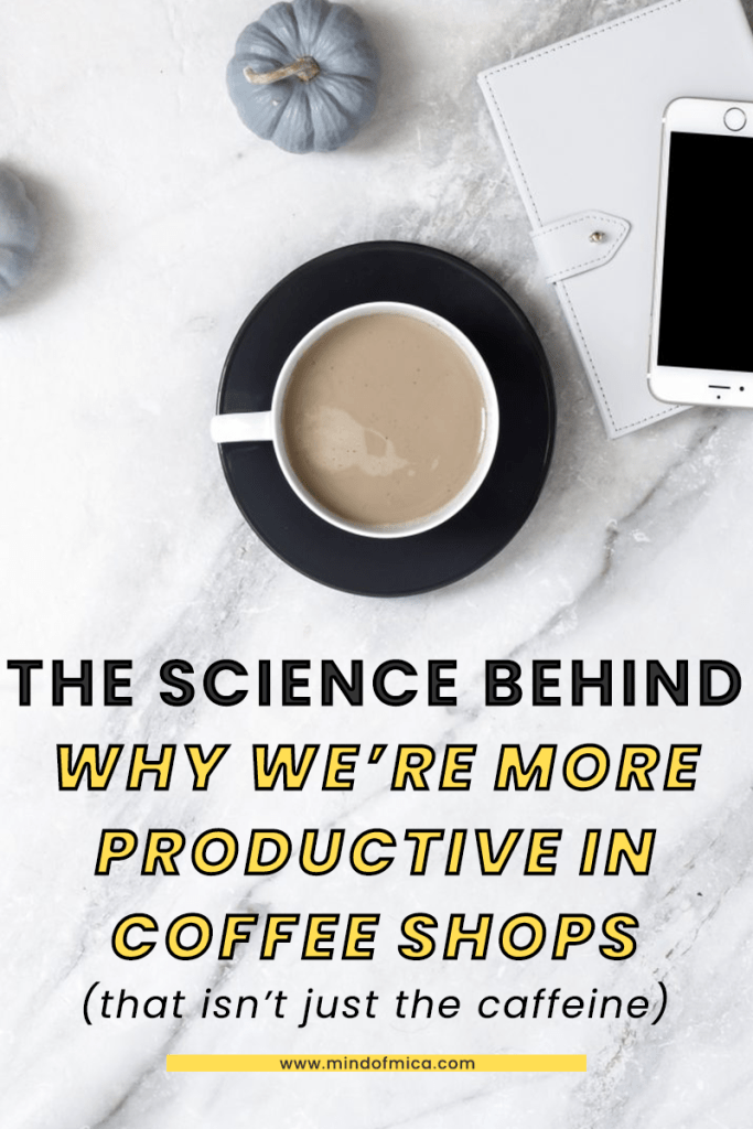 Ever wondered why we seem more productive in coffee shops? Read on to find out! Also see extra productivity tips for working in coffee shops for your next cafe work date.
