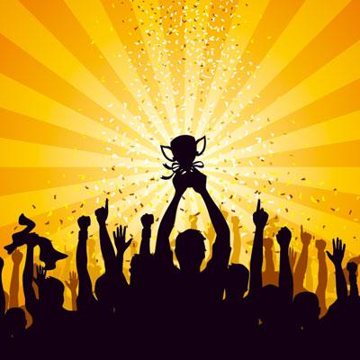 Champions Celebrating