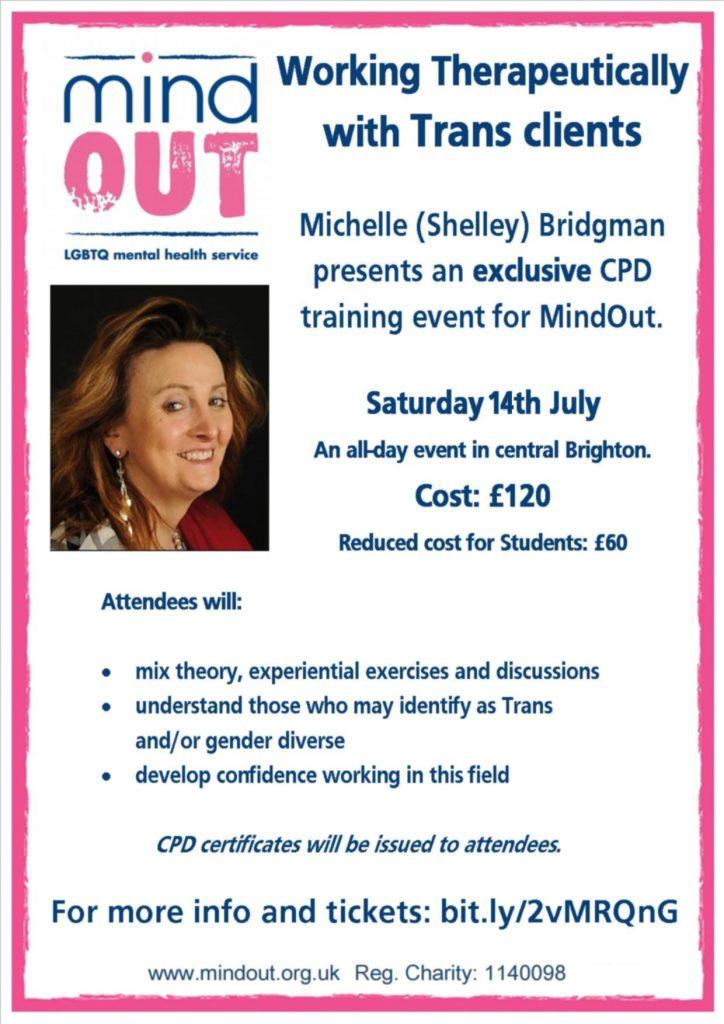 Shelley Bridgman CPD flyer