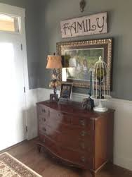 Use a dresser in your entryway to provide more storage