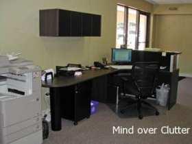 shelf above your desk