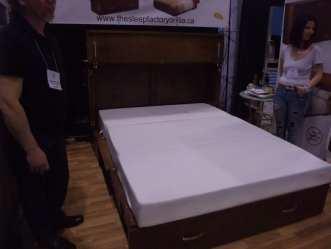 cupboard hiding a bed