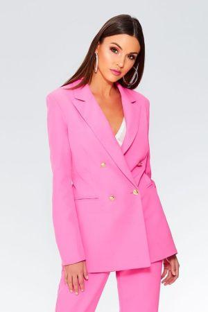 Quiz Clothing Pink Blazer