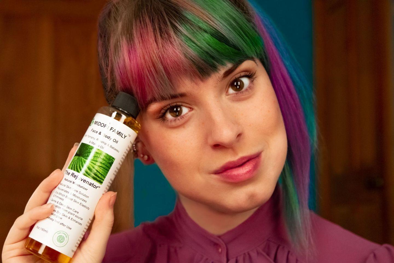 Clean Vegan Organic Beauty Midori Family Oil