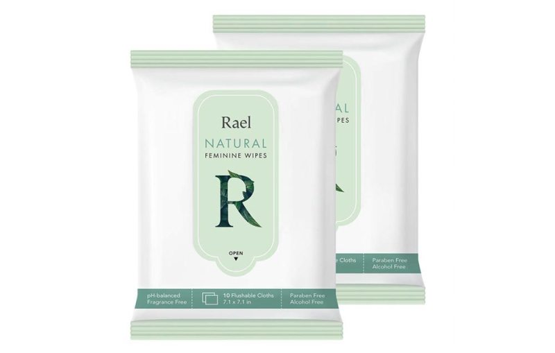 Rael Flushable Feminine Wipes