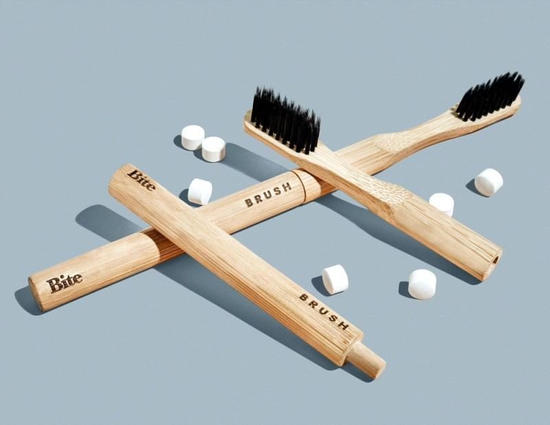 Bite Toothpaste Bamboo Toothbrushes