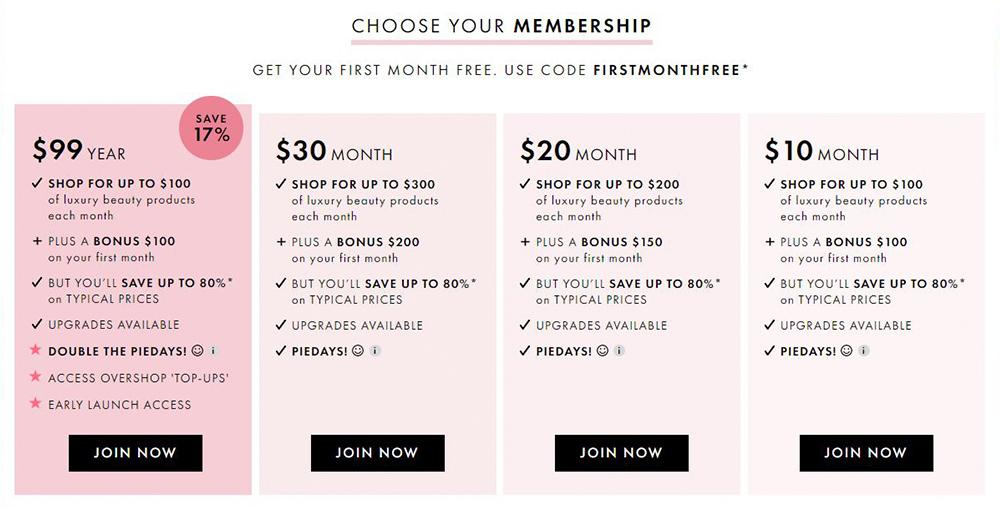 Is Beauty Pie Legit Membership Prices