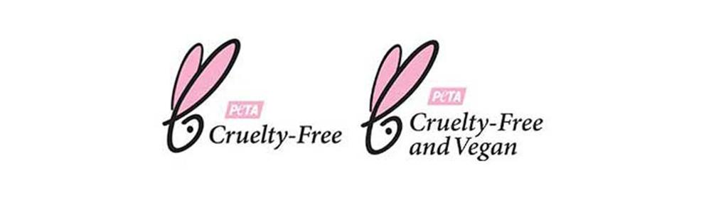 PETA Beauty Without Bunnies Cruelty-Free Certification Logos Vegan