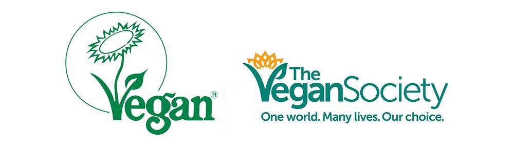 The Vegan Society Certification Logos
