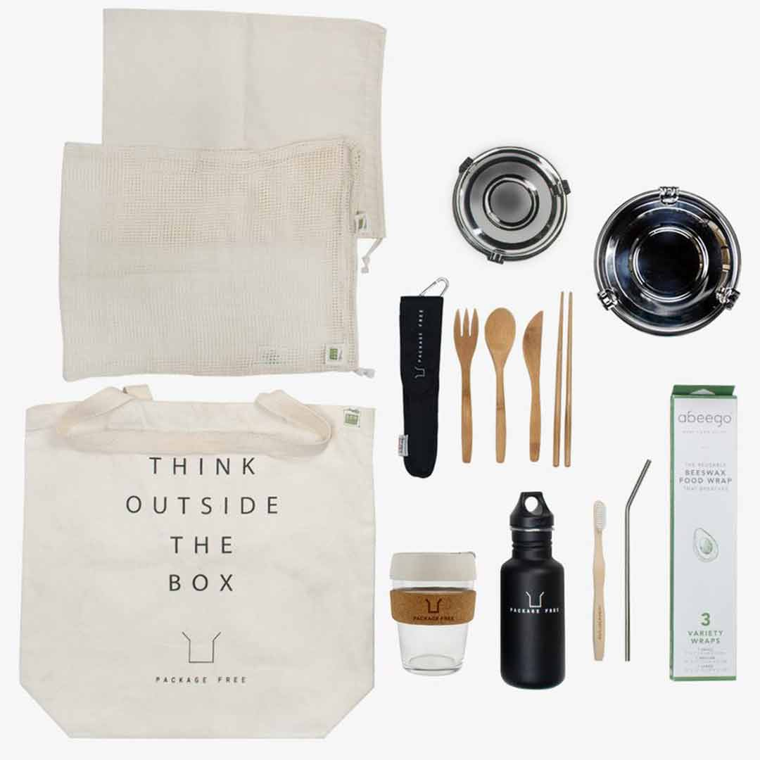 Zero Waste Starter Kit Package Free Shop Zero Waste Gift
