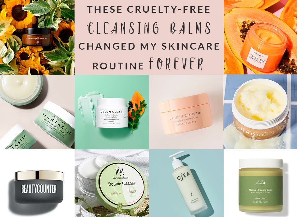 Best Cruelty-Free Cleansing Balms