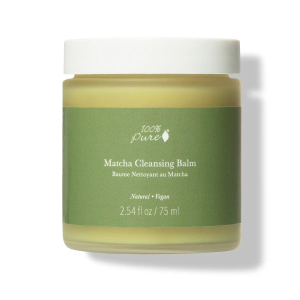 100% Pure Matcha Cruelty-Free Cleansing Balm