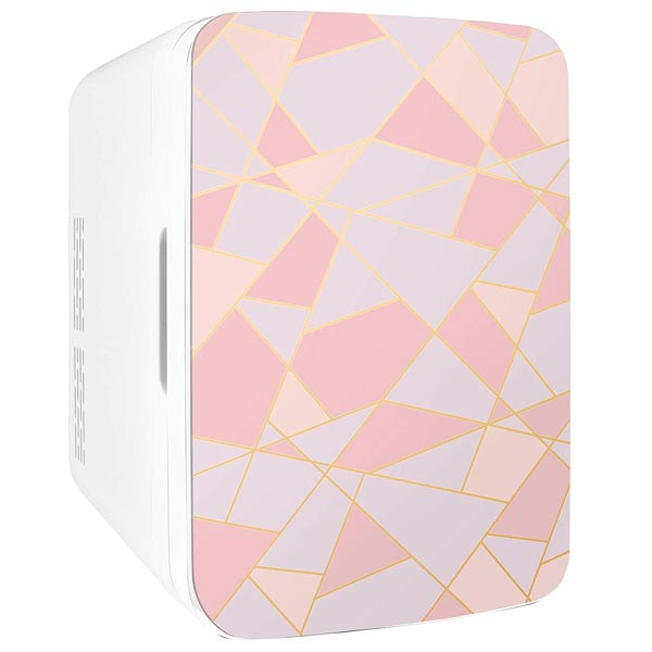 Cooluli Infinity Fractal Pink 10 Liter Mini Fridge
