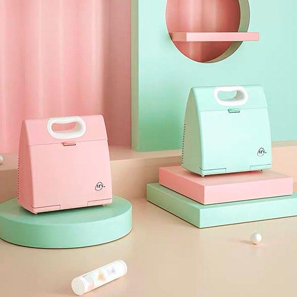 Mini Lunchbox Makeup Fridge Interior