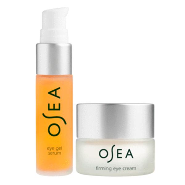 OSEA Eye Firming Serum Eye Gel Serum Duo Cruelty-Free Peptide Skincare