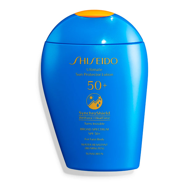 Shiseido Ultimate Sun Protector Lotion SPF 50 Sunscreen Overrated Skincare Products