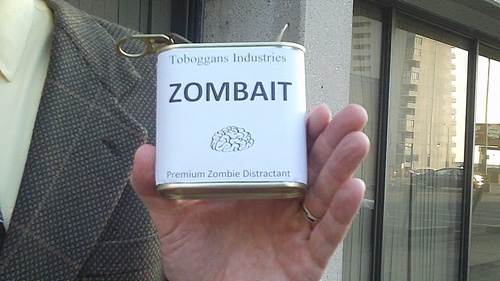 An aromatic can of Zombait