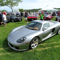 Porsche Carrera GT at the Greenwich Concours