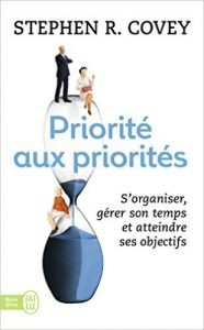 Priorite Stephen Covey couverture livre