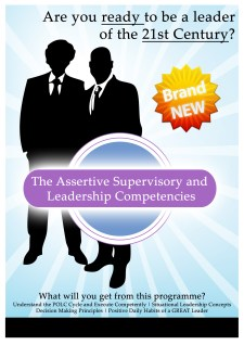 The Assertive Supervisory and Leadership Competencies