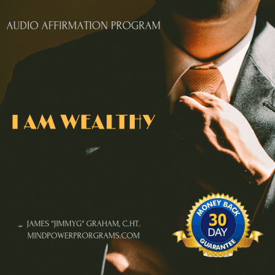 I AM Wealthy Guided Meditation Self Hypnosis MP3 Program