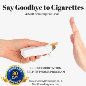 Quit Smoking Guided Meditation Self Hypnosis MP3 Program