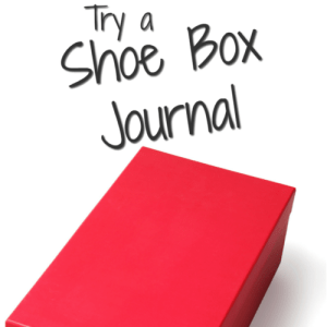 Try a Shoe Box Journal