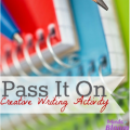 This Pass It On creative writing activity will be a great exercise in flexible thinking and letting go of some of the control. Your students will be given 10-15 minutes to start a creative story, and then everyone will pass his or her paper in the same direction to the next student. Students will again be given time, this time to read the story start they've received and then to add the middle. When the time is up, they'll pass it on one more time, and the next student will write the ending. It's a fun bonding exercise your students are sure to love!