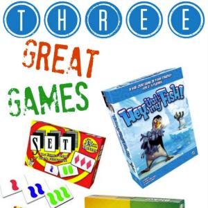 Three Great Games