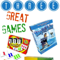 Are you looking for family-friendly games that are appropriate for all ages? These are three games that my family loves that I highly recommend. All of them require strategizing and critical thinking, but they're a lot of fun to play with the whole family!