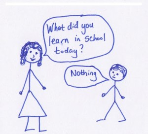 Get Your Students to Talk about School