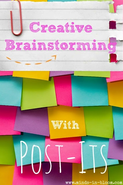 There are a variety of ways to use Post-It notes, as we all know. However, one fantastic use for them in the classroom is for creative brainstorming. Use large and small Post-It notes to have your class creatively brainstorm a solution to a problem.