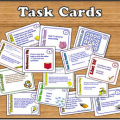 Are you looking for no prep teaching materials? Rachel Lynette's Teachers Pay Teachers store has you covered! Click through for task cards and more!