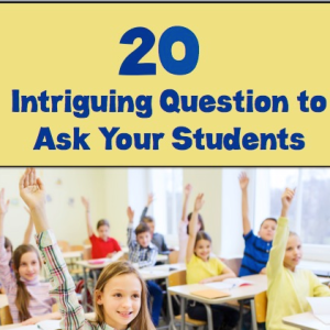 20 Questions to Ask Kids