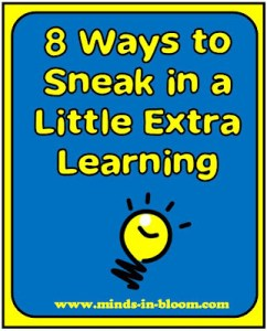 8 Ways to Sneak in a Little Extra Learning