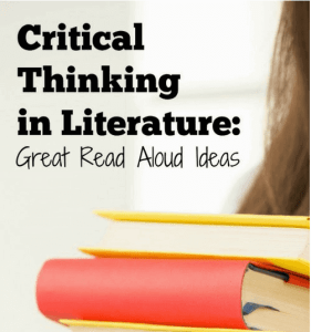 Critical Thinking in Literature Read Aloud #1