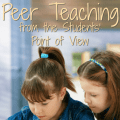 Is peer teaching as effective as many teachers think it is? Check out this scenario from the students' perspectives and determine if it really is as effective as it's often touted to be.