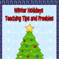 Those of us who are sellers on TpT want to thank you for your support of our stores! To do so, we've created a free winter holiday ebook! You can download it in Rachel Lynette's TpT store!