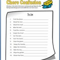 Talk about chores and helping out around the house with this FREE noun and verb printable! You can get the link to download the freebie in this post, and I've provided a list of ways you can generate class discussion about doing chores.