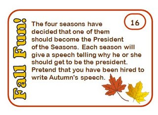 We all have fast finishers in our classrooms. Why not give them an extra challenge with these autumn-themed ELA task cards? While these cover a range of ELA topics, they are not based on the Common Core State Standards. Rather, they are focused on encouraging your students to think critically and creatively.