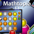 Mathtopia is a math facts app that's available in the App Store. Teachers can purchase the app and then have their students play rigorous games for mastery!