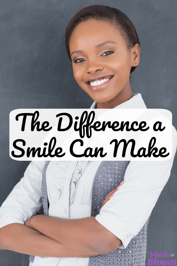 We often forget it, but as teachers, one of the biggest impacts we can have on our students is a simple gesture: a smile. Our guest blogger reminds us of the incredible impact a smile can have on our students, and she reminds us why it's important to smile at them, even when it's hard. Click through to read more.