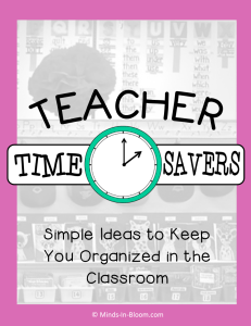 Teacher Time Savers