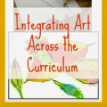 Integrating art across the curriculum doesn't have to be hard! Our guest blogger shares a variety of ways that art can be integrated into all content areas.