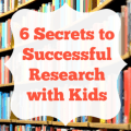 Are you trying to figure out how to make research enjoyable and maybe even fun (gasp!) for kids? Our guest blogger is a teacher-turned-librarian, and she's sharing six secrets to successful research with kids in this post. Click through to read more!