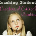 It might seem impossible to add one more thing to your teaching agenda, but have you taught your students creative and critical thinking? Read this post for inspiration on how to teach these skills--and for insight on how these two types of thinking are different.