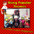 Use this post to help you brainstorm ideas for implementing popular themes in your classroom. Amanda, our guest blogger, says that doing this has significantly increased student engagement in hers, and it's made learning more fun!