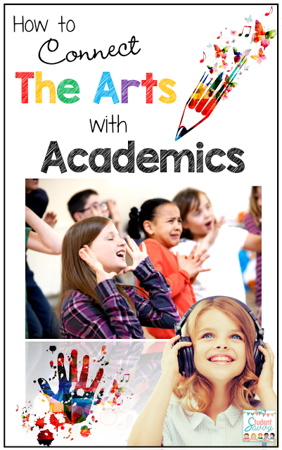 As we see the arts leaving more and more schools, it's more important to connect the arts with academics. This guest post explores a variety of ways that you can do that for all major content areas.