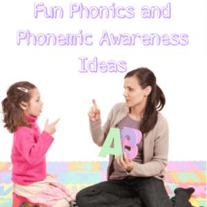 Fun Phonics and Phonemic Awareness Ideas