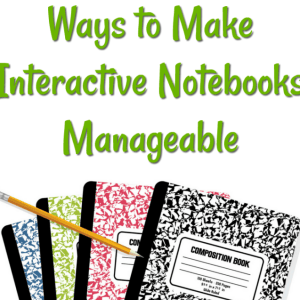 Ways to Make Interactive Notebooks Manageable